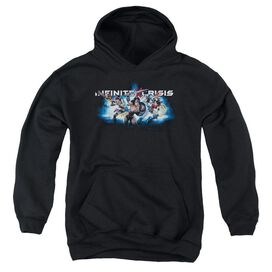 Infinite Crisis Ic Blue Youth Pull Over Hoodie
