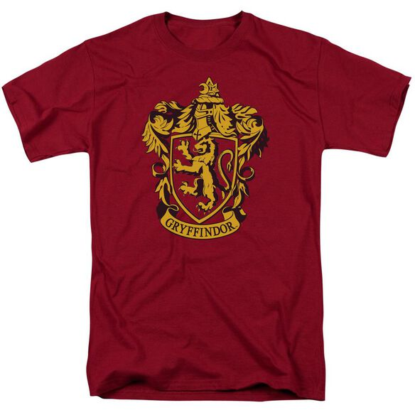 Harry Potter Gryffindor Crest Short Sleeve Adult T-Shirt