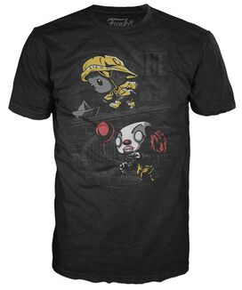 Exclusive IT Boat Scene Funko Pop T-Shirt