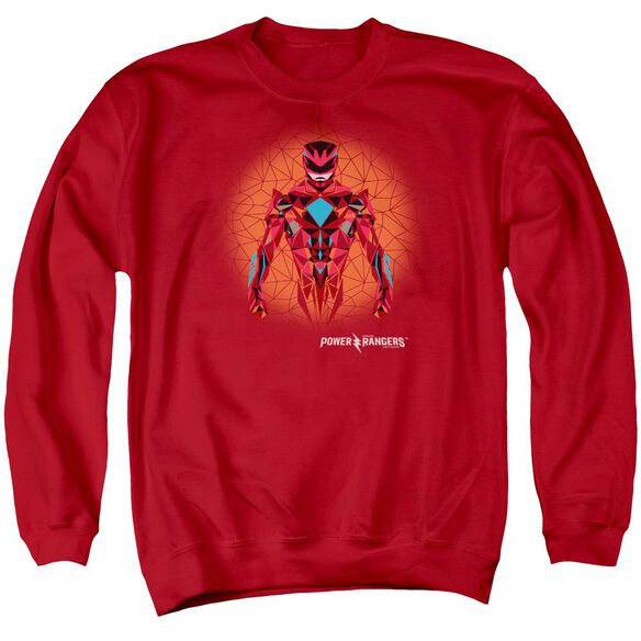 Power Rangers Power Ranger Graphic Adult Crewneck Sweatshirt