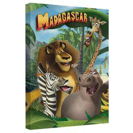 Madagascar Jungle Time Quickpro Artwrap Back Board