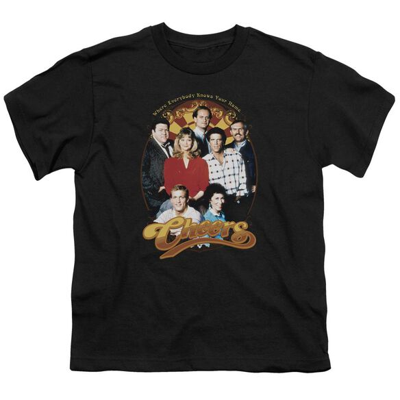 Cheers Group Shot Short Sleeve Youth T-Shirt