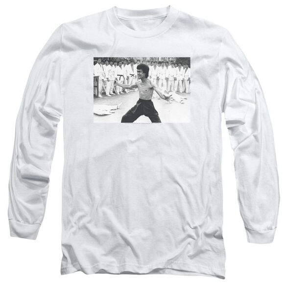 Bruce Lee Triumphant Long Sleeve Adult T-Shirt