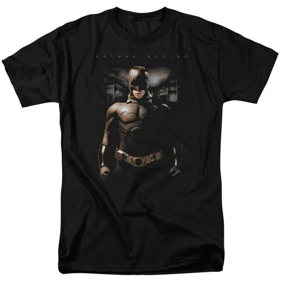 Batman Begins Gotham Bats Short Sleeve Adult T-Shirt