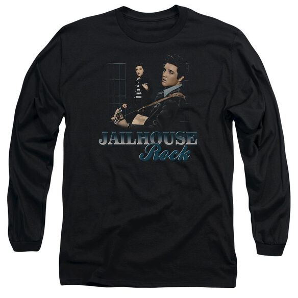 Elvis Jailhouse Rock Long Sleeve Adult T-Shirt