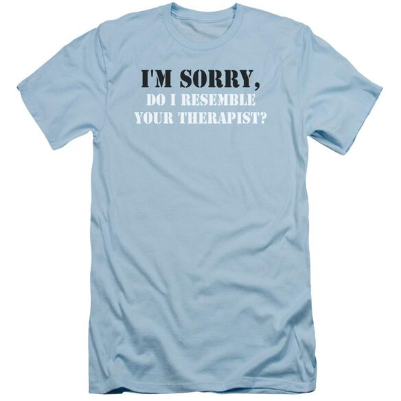 Resemble Your Therapist Hbo Short Sleeve Adult Light T-Shirt