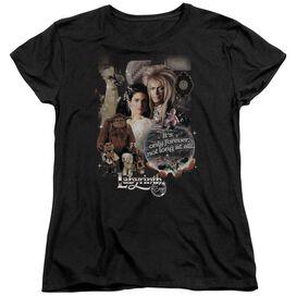 LABYRINTH 25 YEARS OF MAGIC - S/S WOMENS TEE - BLACK T-Shirt
