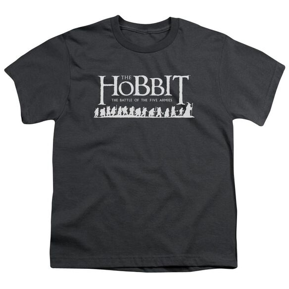 Hobbit Walking Logo Short Sleeve Youth T-Shirt