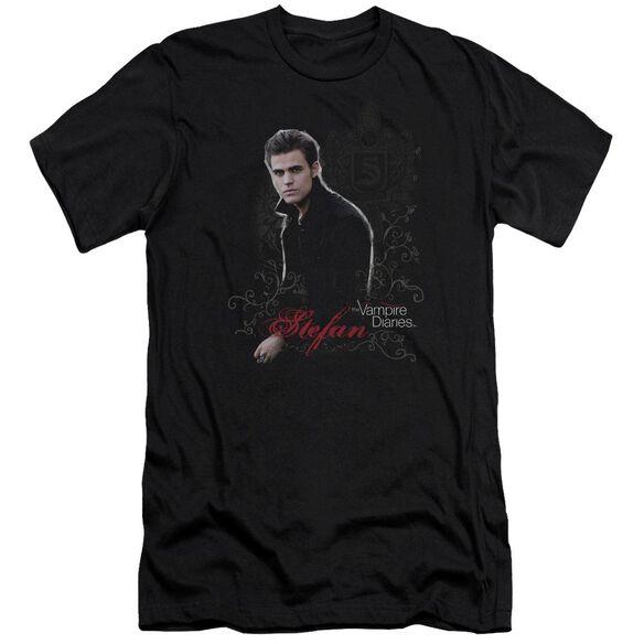 Vampire Diaries Stefan Premuim Canvas Adult Slim Fit