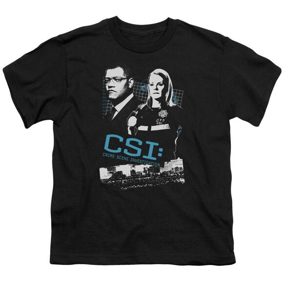 Csi Investigate This Short Sleeve Youth T-Shirt