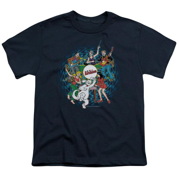 Archie Comics Psychadelic Archies Short Sleeve Youth T-Shirt