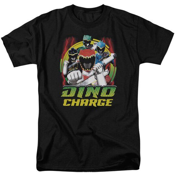 Power Rangers Dino Lightning Short Sleeve Adult T-Shirt