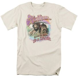 Cheech And Chong Mellow Short Sleeve Adult Cream T-Shirt