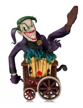 DC Comics Batman Artists Alley PVC Statue 1/10 The Joker by Brandt Peters
