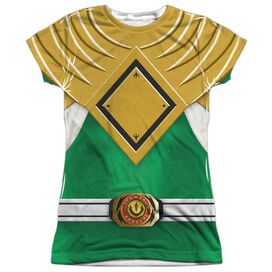 Power Rangers Green Ranger Short Sleeve Junior Poly Crew T-Shirt