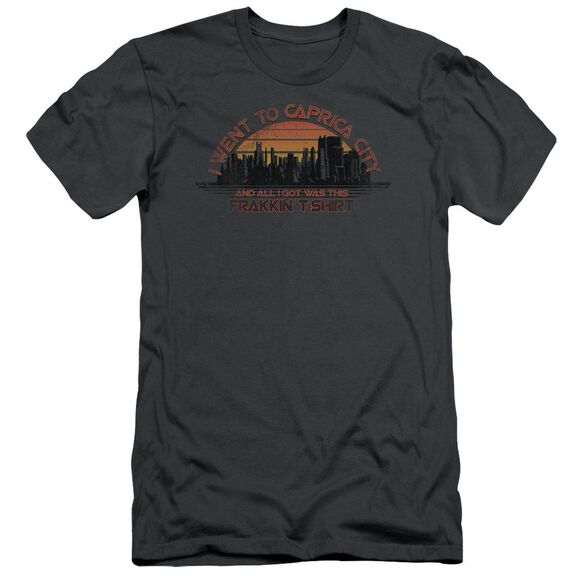 BSG CAPRICA CITY - S/S ADULT 30/1 - CHARCOAL T-Shirt