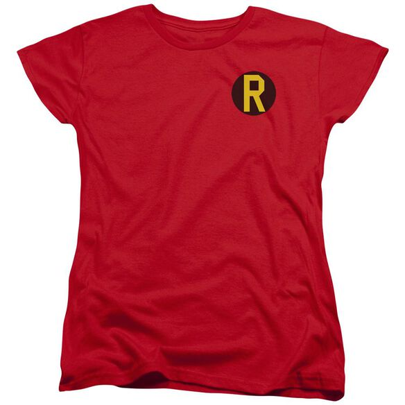 Dc Robin Logo Short Sleeve Womens Tee T-Shirt