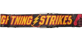 Flash Lightning Strikes Seatbelt Belt
