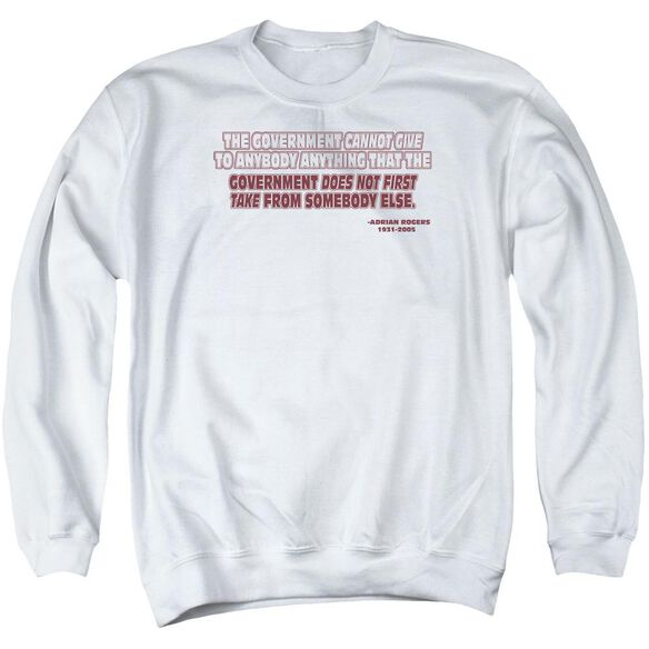 Government Give Take Adult Crewneck Sweatshirt