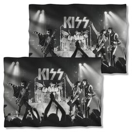 Kiss Staged (Front Back Print) Pillow Case White