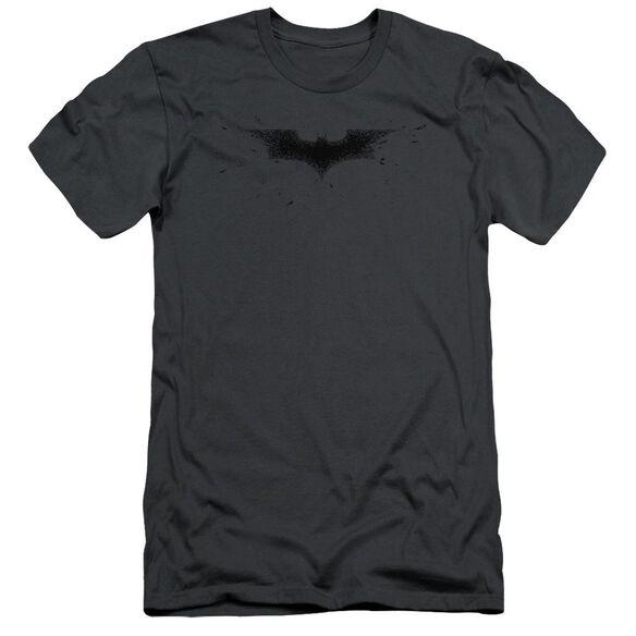 Dark Knight Bats Logo Short Sleeve Adult T-Shirt