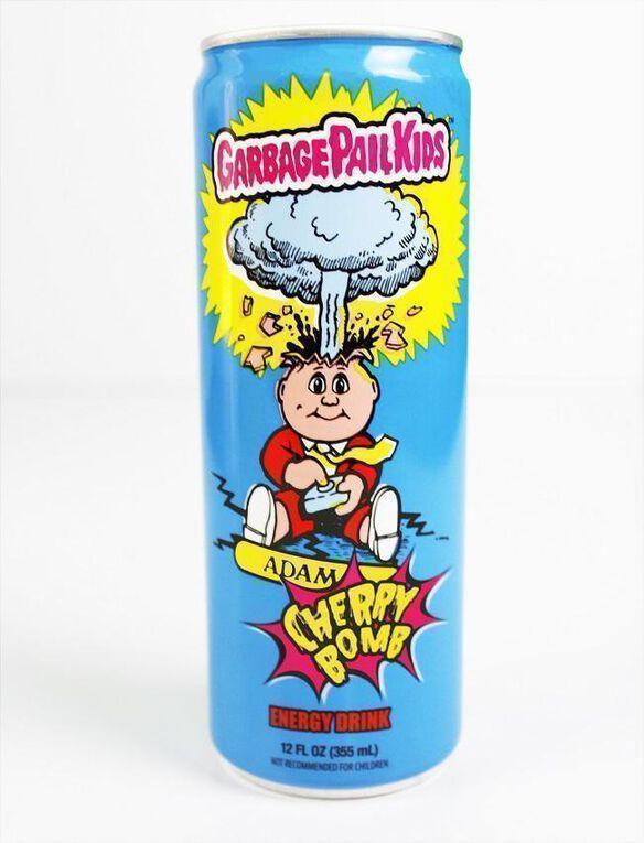 Garbage Pail Kids Adam [Cherry] Bomb Energy Drink