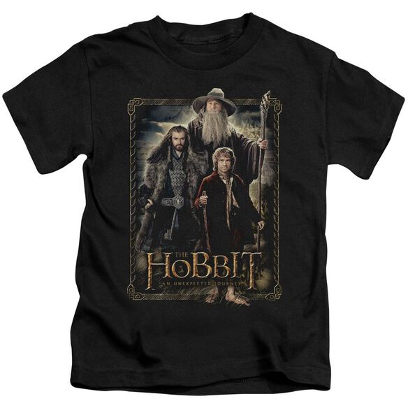 The Hobbit The Three Short Sleeve Juvenile Black Md T-Shirt