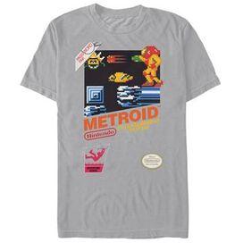 Metroid NES Box Art T-Shirt