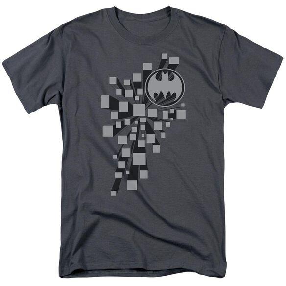 Batman Gotham D Short Sleeve Adult Charcoal T-Shirt