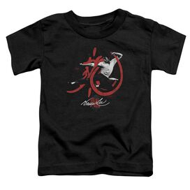Bruce Lee High Flying Short Sleeve Toddler Tee Black Md T-Shirt