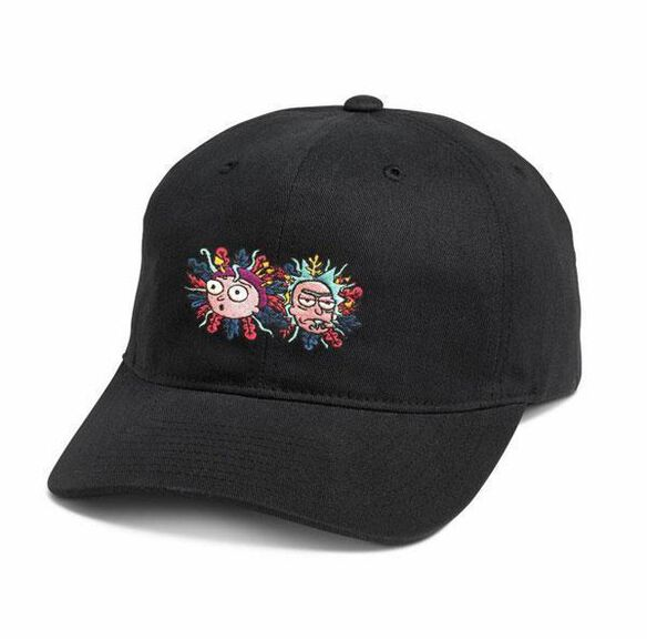 Primitive x Rick and Morty Rick and Morty 5 panel dad hat
