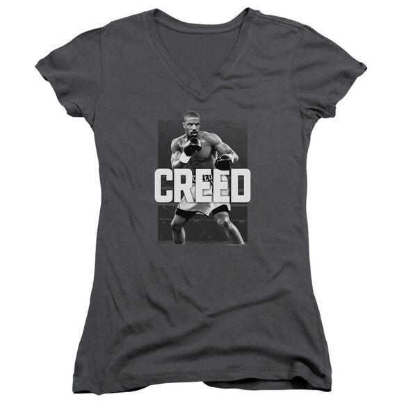 Creed Final Round Junior V Neck T-Shirt