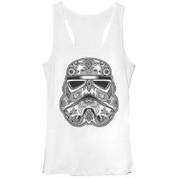 Star Wars Henna Trooper Tank Top Juniors T-Shirt