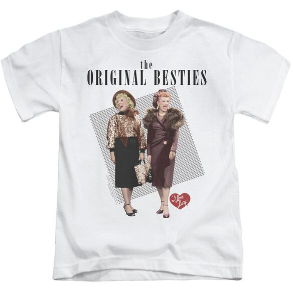 I Love Lucy Original Bestie Short Sleeve Juvenile T-Shirt