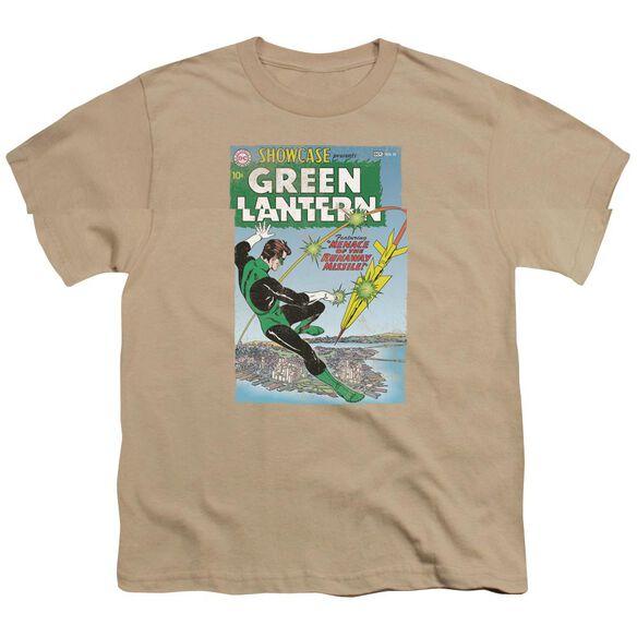 Green Lantern Menace Missle Short Sleeve Youth T-Shirt
