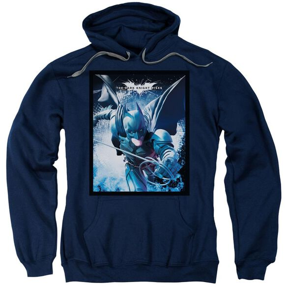 Dark Knight Rises Swing Into Action Adult Pull Over Hoodie