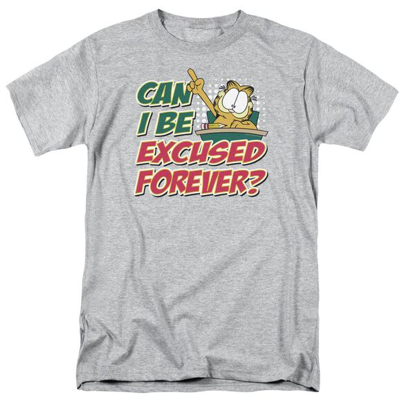 GARFIELD EXCUSED FOREVER - S/S ADULT 18/1 - ATHLETIC HEATHER T-Shirt