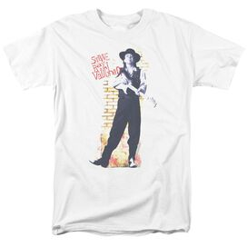 Stevie Ray Vaughan Standing Tall Short Sleeve Adult T-Shirt