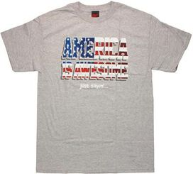 Flag America is Awesome T-Shirt