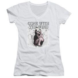 Gone With The Wind Dancers Junior V Neck T-Shirt