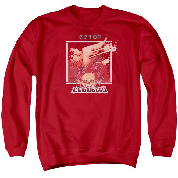 Zz Top Deguello Cover Adult Crewneck Sweatshirt