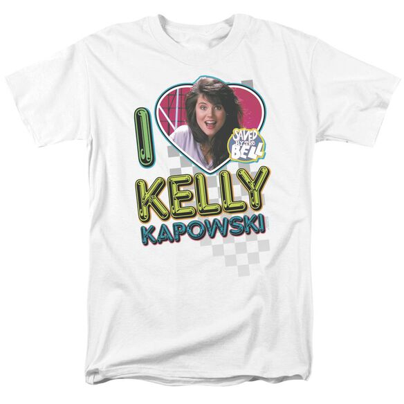 Saved By The Bell I Love Kelly Short Sleeve Adult T-Shirt