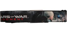 Gears of War Judgment Island Sniper Battle Scene Seatbelt Mesh Belt