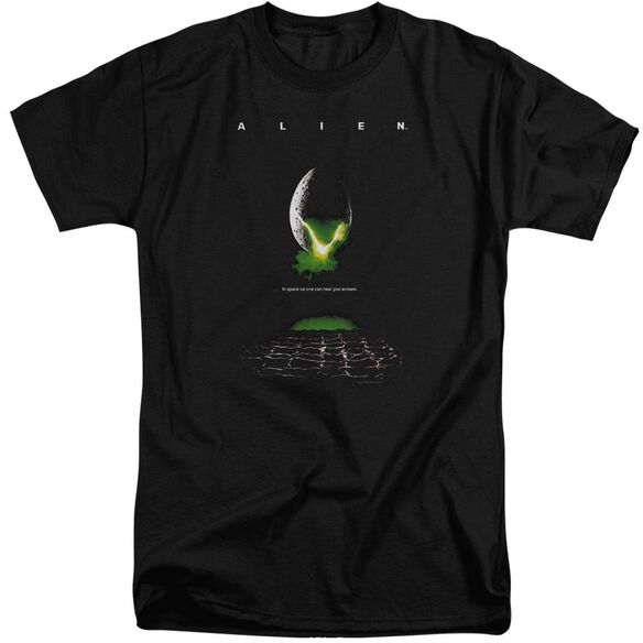 Alien Poster Short Sleeve Adult Tall T-Shirt