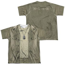 MASH HAWKEYE COSTUME (FRONT/BACK PRINT)-S/S YOUTH T-Shirt