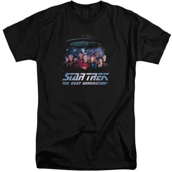 Star Trek Space Group Short Sleeve Adult Tall T-Shirt