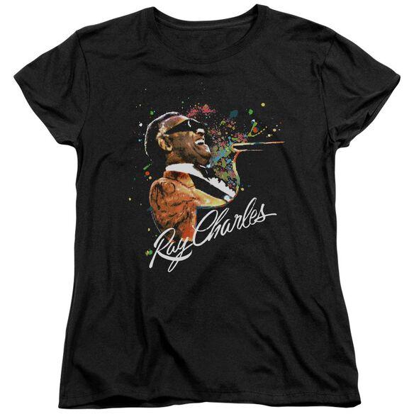 Ray Charles Soul Short Sleeve Womens Tee T-Shirt