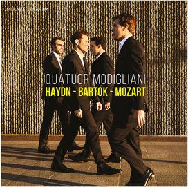 Quatuor Modigliani - Haydn - Bartok - Mozart