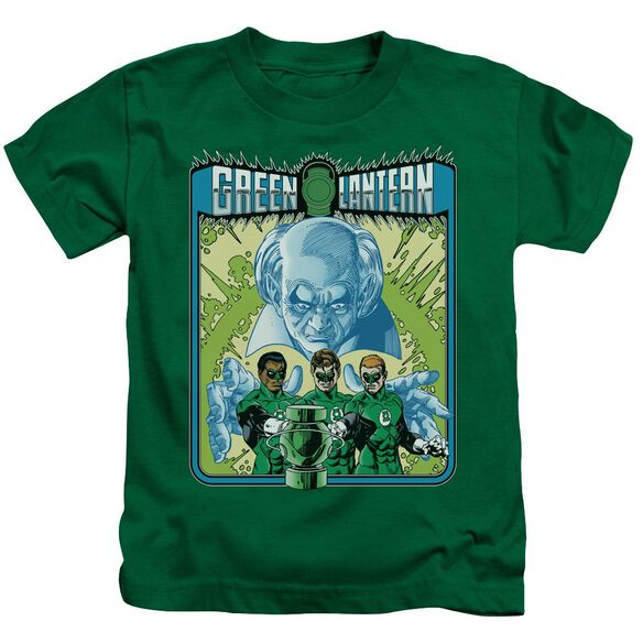 Green Lantern Gl #184 Cover Short Sleeve Juvenile Kelly Green T-Shirt