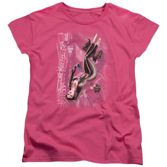 Jla Catwoman #1 Short Sleeve Womens Tee Hot T-Shirt